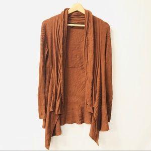 Apt. 9 medium open knit cardigan sweater